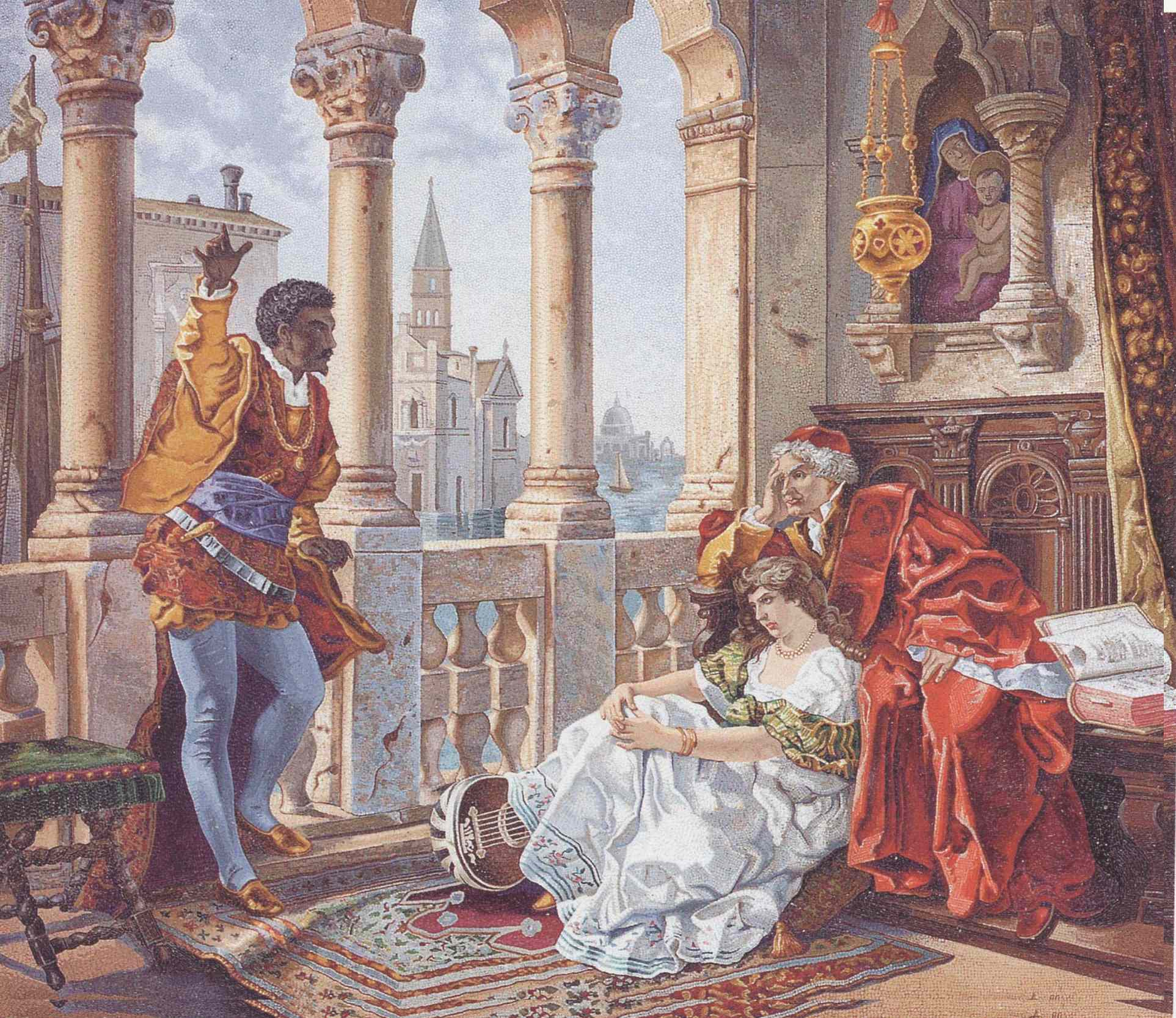 othello and the moor of venice essay Discuss the role that race plays in shakespeare's portrayal of othello how do the  other characters react to othello's skin color or to the fact that he is a moor   provokes the most poisonous responses: othello is a black man in white venice.